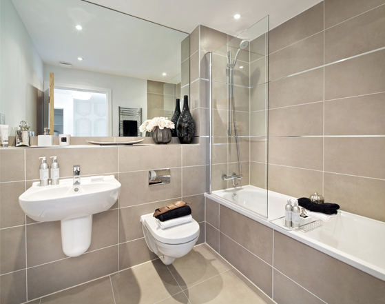 Allen Road specification - Bathrooms