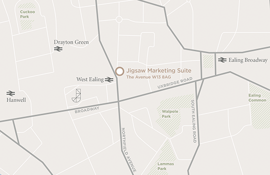 Jigsaw Marketing Suite Map