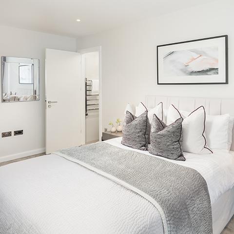 City Wharf bedroom