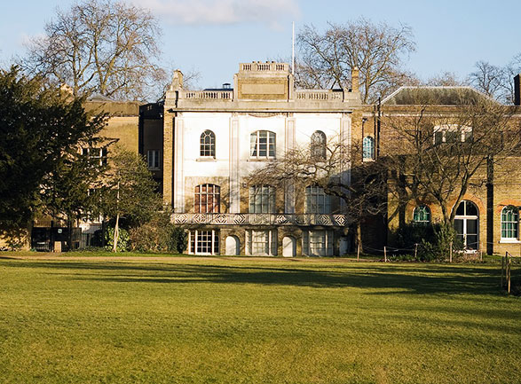 Pitzhanger Manor: view from Walpole Park