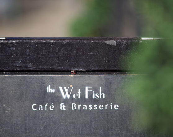 Fellows Square local area - Wet Fish Cafe