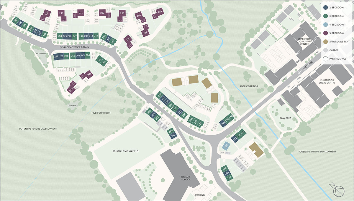 Elmsbrook Site Plan