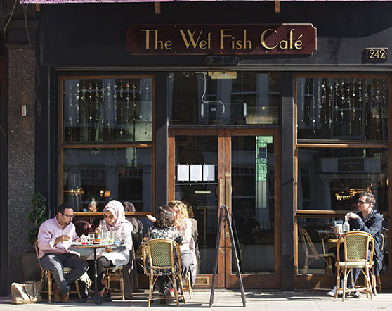 The Wet Fish Cafe