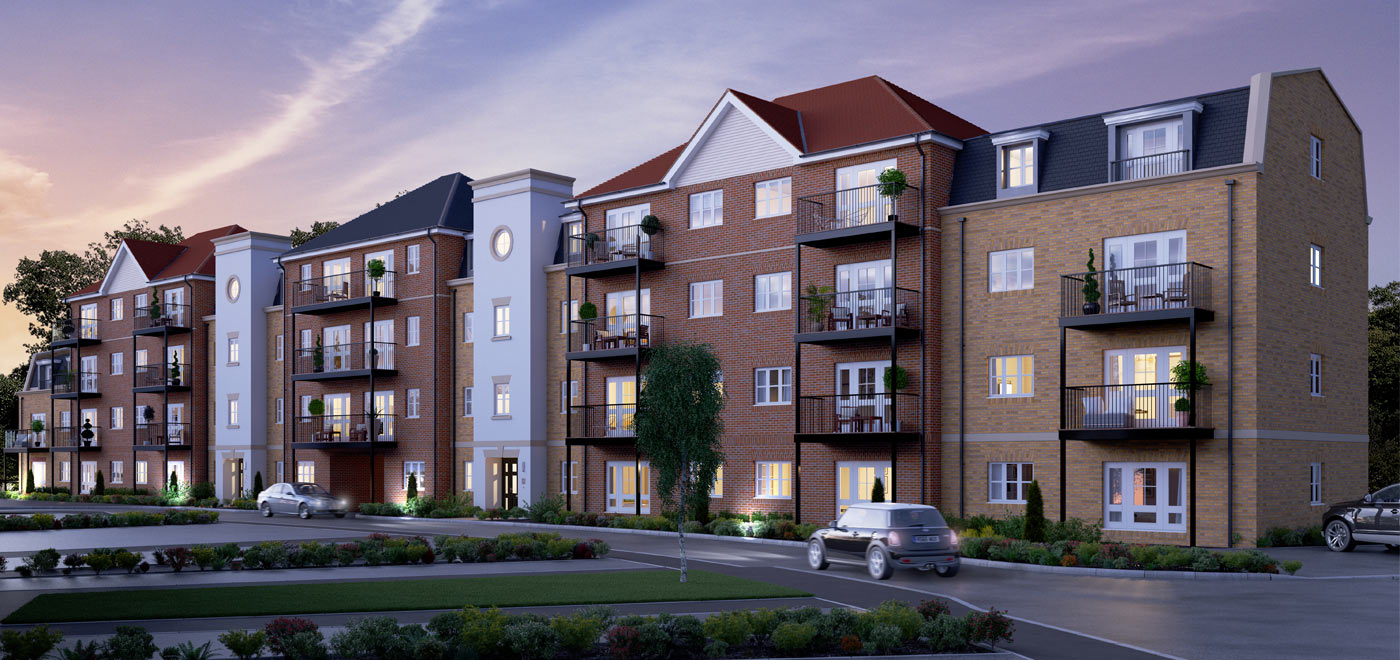 Jubilee Meadows - Shared ownership apartments in Hersham, Walton-on-Thames