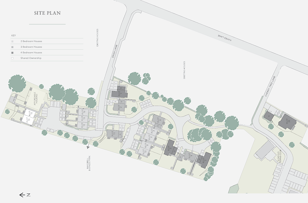 Hayeswood site plan