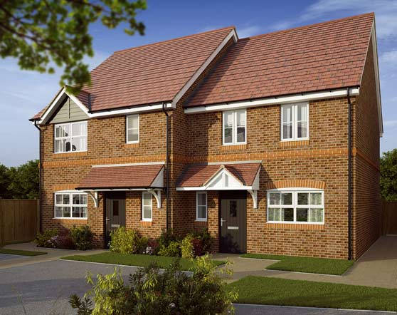 Hayeswood shared ownership homes