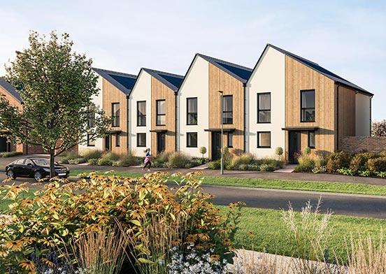 Elmsbrook New Homes Development Bicester Oxfordshire Fabrica