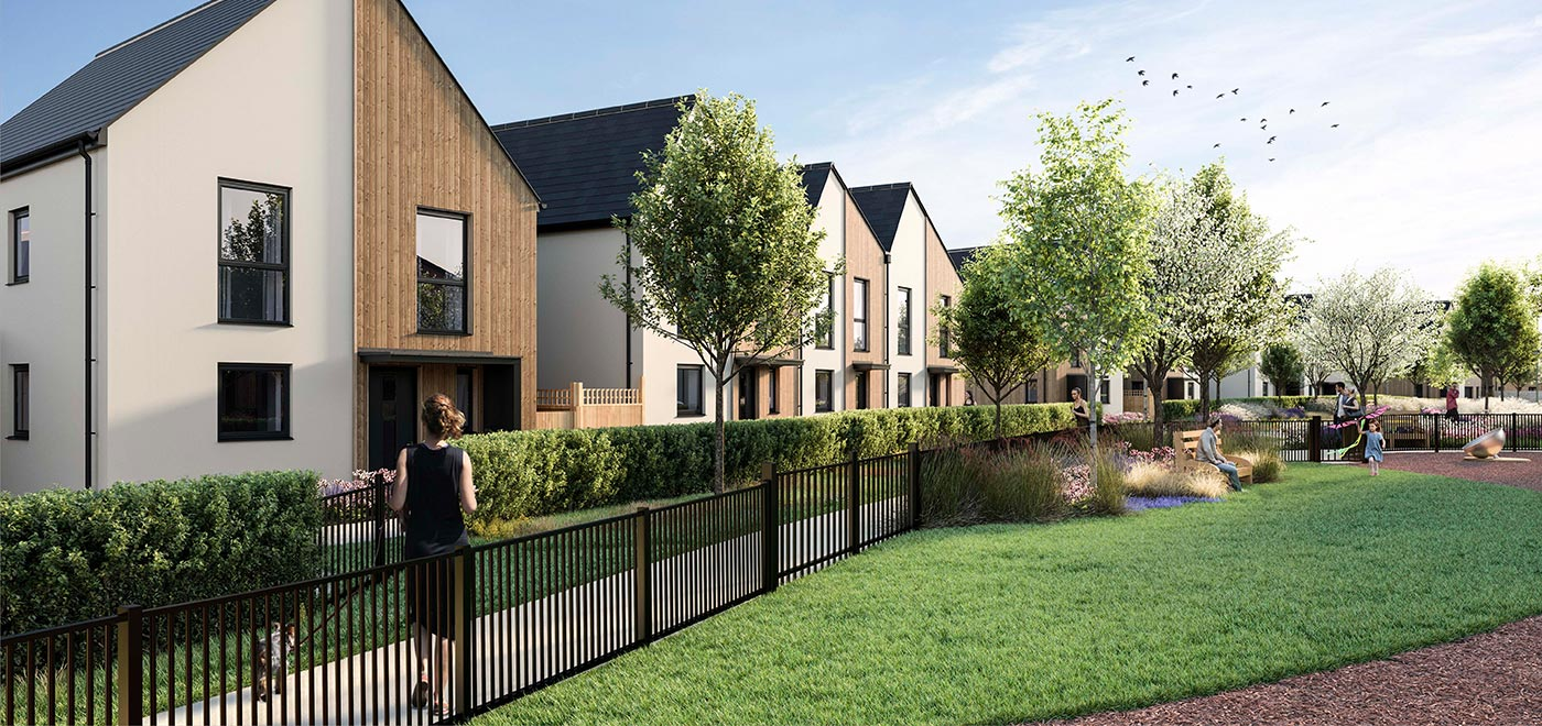 AN AWARD WINNING DEVELOPMENT OF 2, 3, 4 AND 5 BEDROOM HOMES
