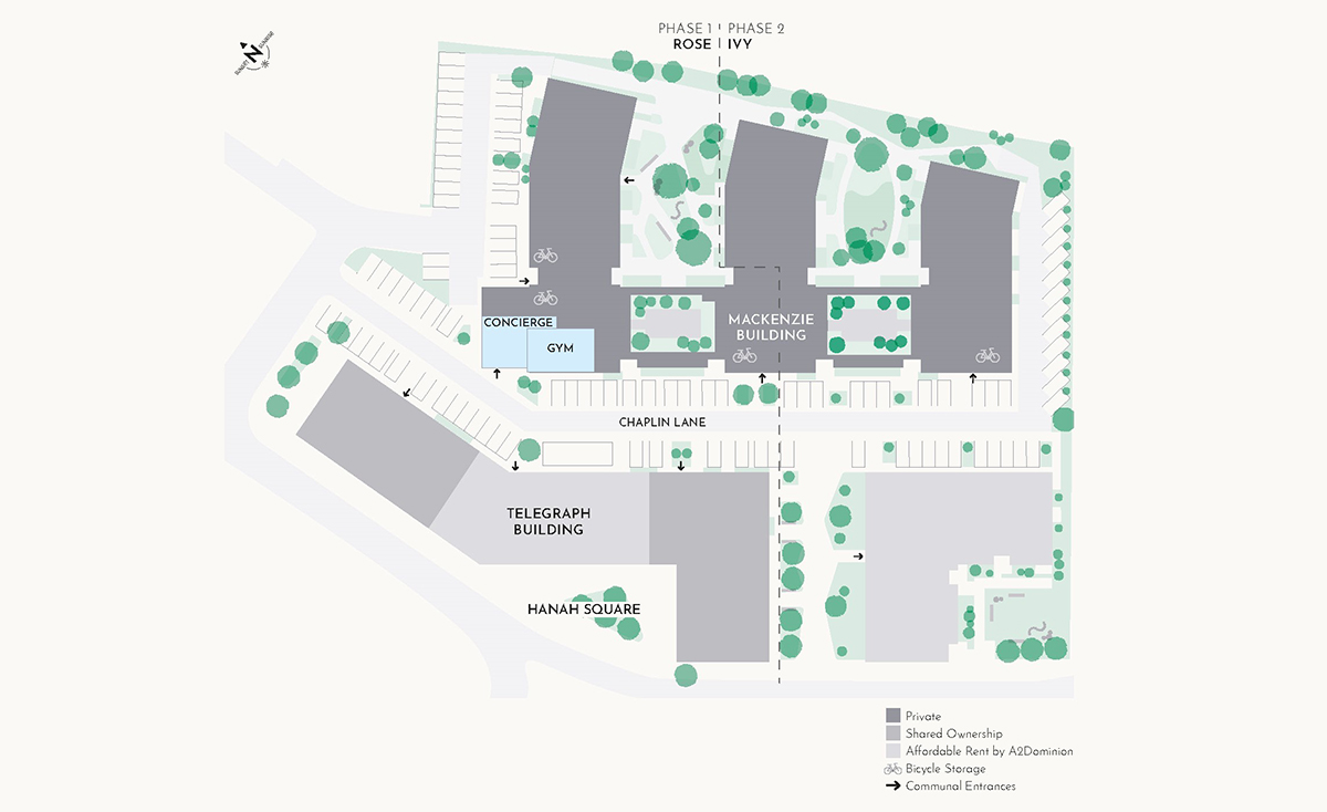 Hanwell Square Site Plan