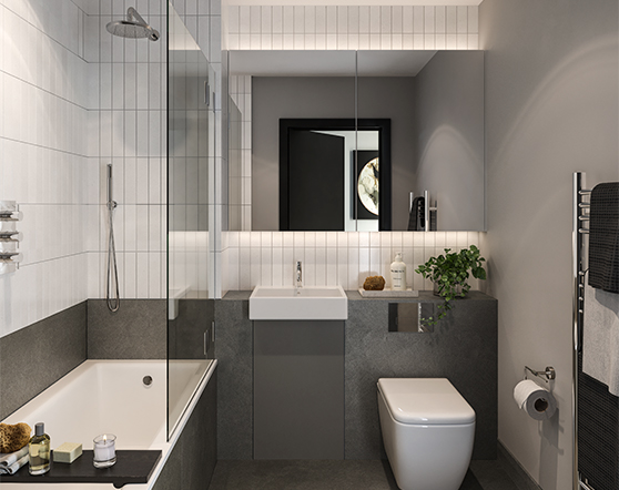 Hanwell Square | Bathroom Specification