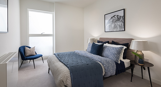 The Boulevard | Show Home Bedroom