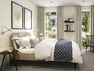 City-Wharf-master-bedroom