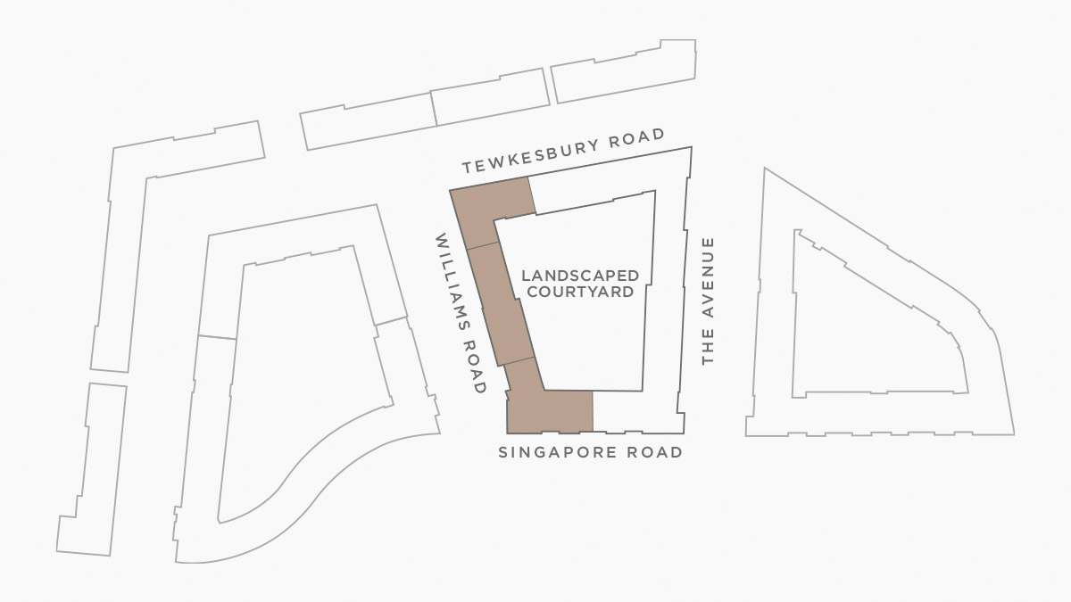 Jigsaw site plan