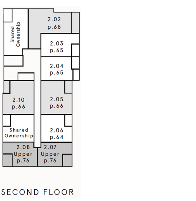 Location of this apartment on the floor